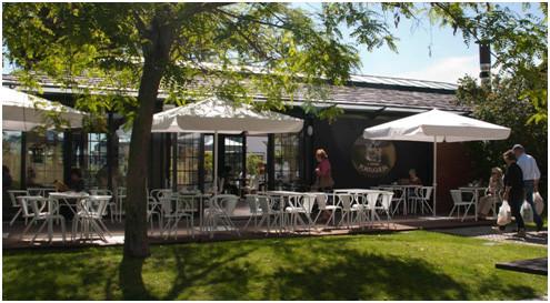 Fig. 6 – One of Telheiras many cafés