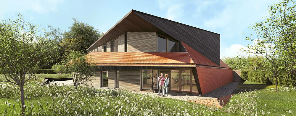 National Planning Policy Framework (NPPF) paragraph 79e for a unique new build dwelling in Worth, Kent