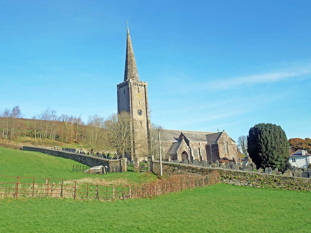St Peter & St Paul, Ermington Church in South Hams