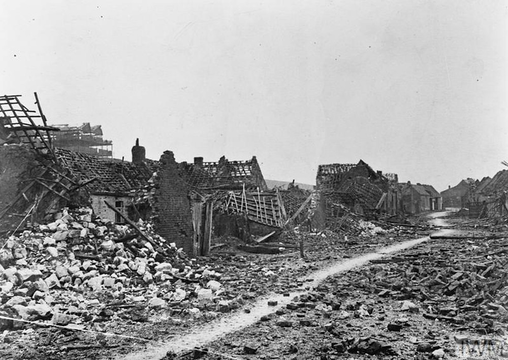 Ruins of the village of Loos