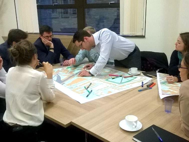 Collaborative StreetDEMO Workshop in Exeter
