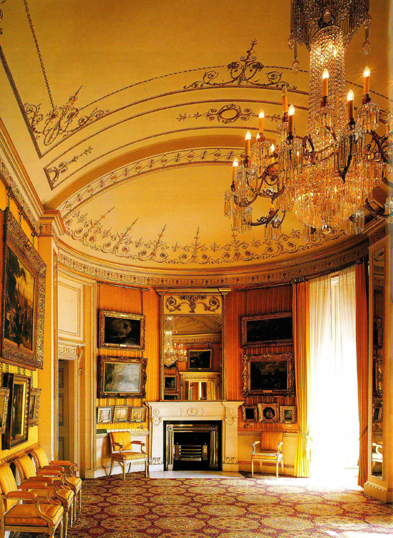 Internal view of the Piccadilly Drawing Room