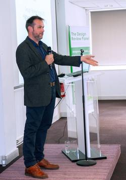 Jon Tricker at Design Review Panel