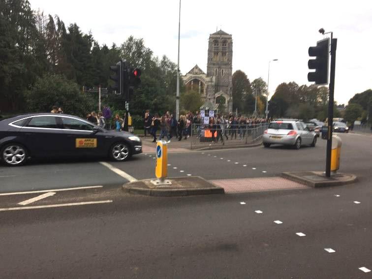 Pedestrian Crossing in Exeter