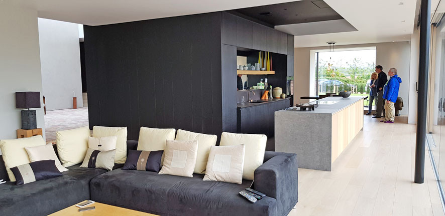 Walled Garden Farringdon (Para 79/55), Design Review Panel Post completion site visit - the living room
