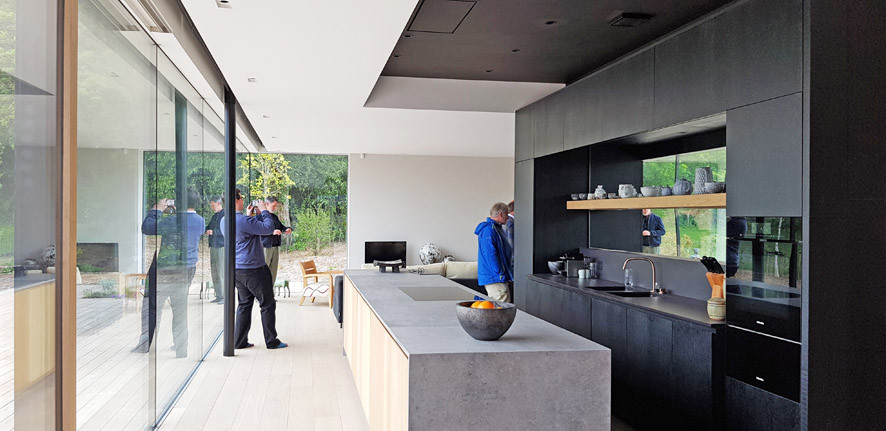 Walled Garden Farringdon (Para 79/55), Design Review Panel Post completion Site Visit -The kitchen