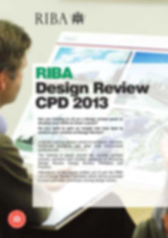RIBA Design Review CPD Training Poster