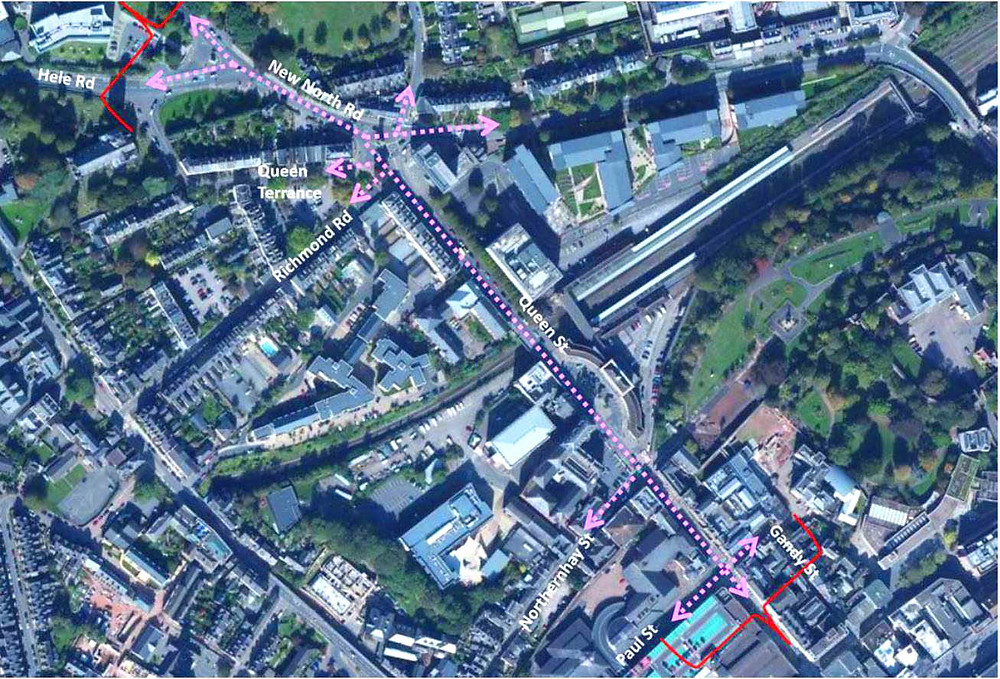 Queen Street DEMO Site Context Map