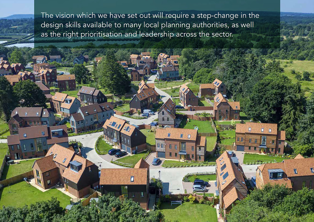 """""""The vision ... will require a step-change in the design skills available in many local planning authorities"""""""