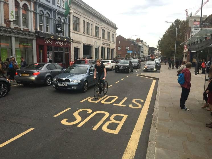 Queen Street Exeter