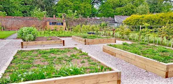 Walled Garden Farringdon (Para 79/55), Design Review Panel Post completion Site Visit - Walled garden