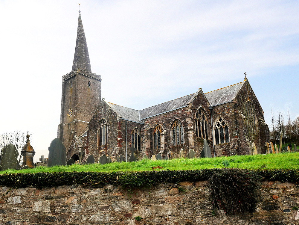 village church of St Peter & St Paul - Ermington