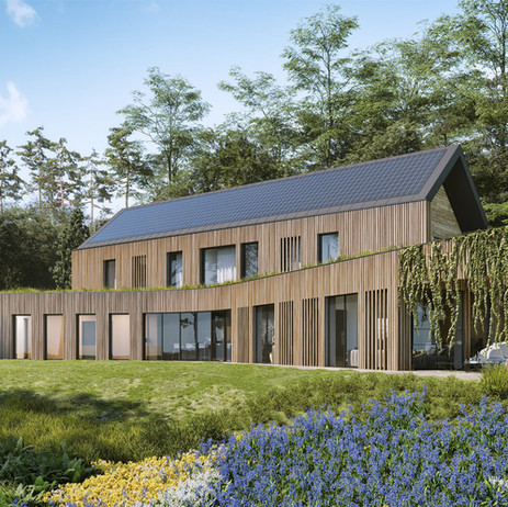 Innovative Para 79 House Approved - 'The Autarkic House'