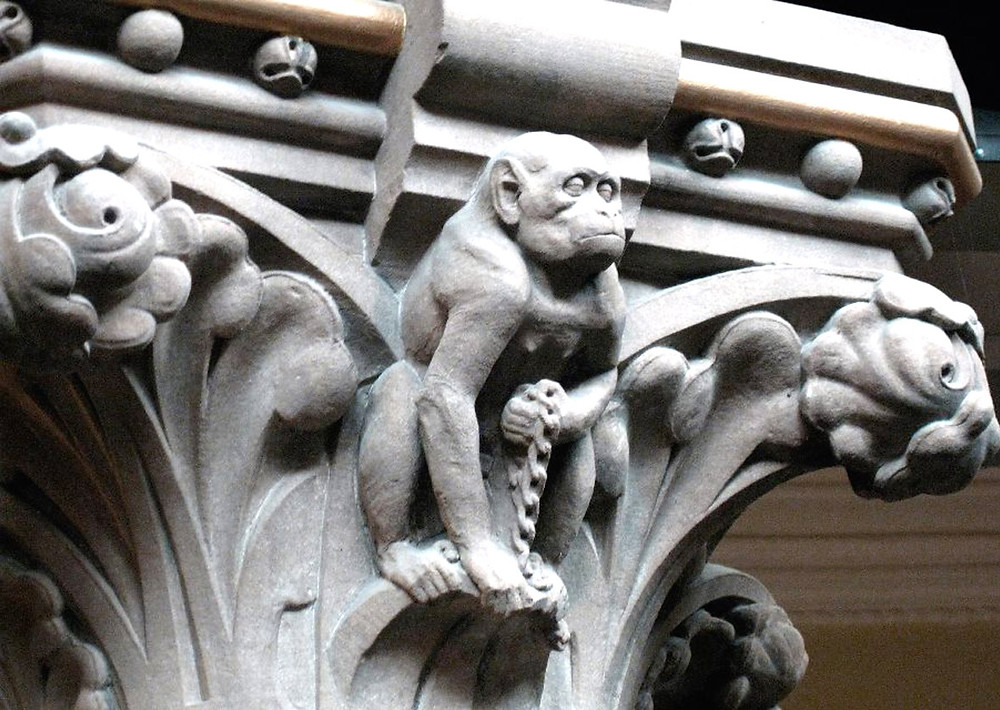 Fothergill Watson Carved Monkey - Photo Credit: Andrew Thompson