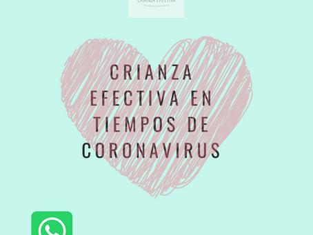Crianza Efectiva en tiempos de coronavirus