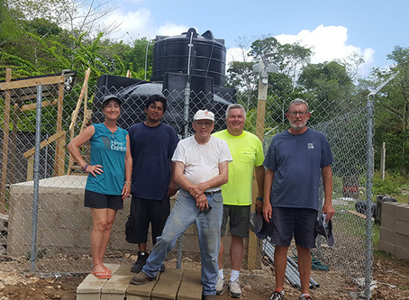 "We should all have access to pure water... ""The Belize Project..."""
