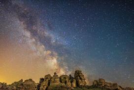 Milky Way over Houndtor