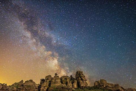 Hound Tor Milky Way