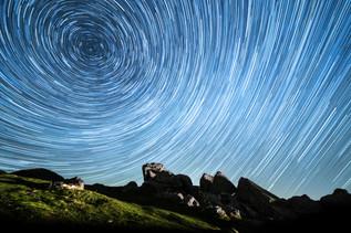 Dartmoor Star Trails
