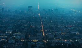 Los Angeles Hazy Aerial