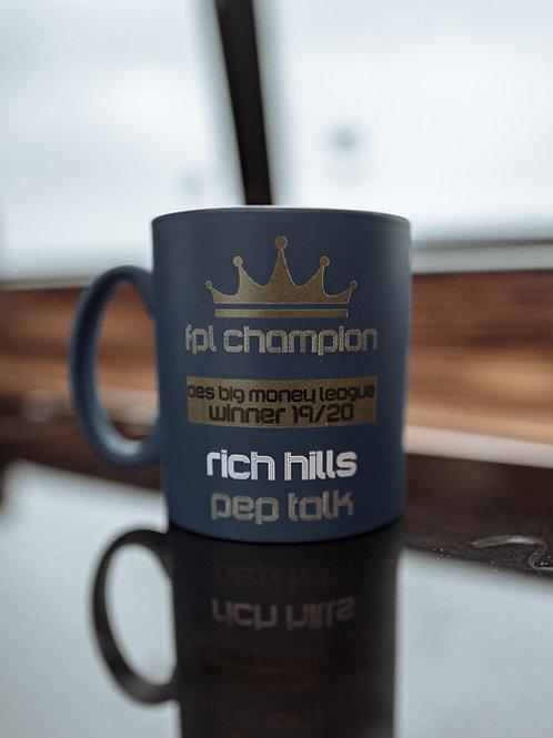 Navy Mini-League Mug