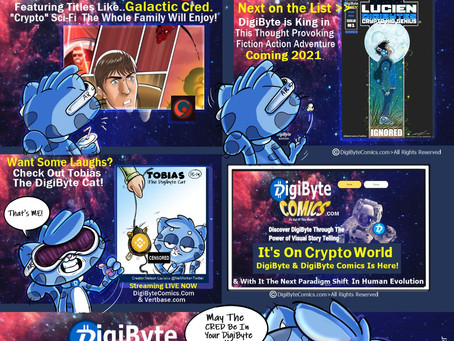 DigiByte Featured Comic Galactic Cred Promo plus more!