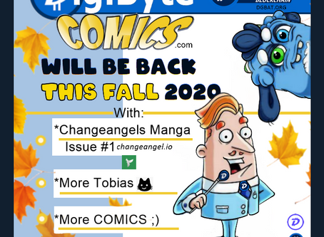 DigiByte Comics Back This Fall 2020