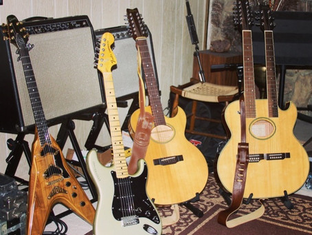 Lanes Laire's Guitars: An Historical Journey (with stories, of course!)