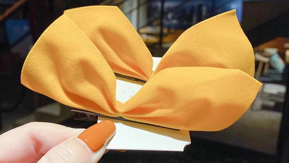 Yellow hair clips