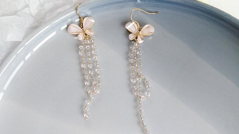 Butterfly tassels Earrings