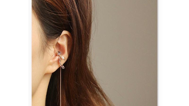 Gold plated Ear cuff