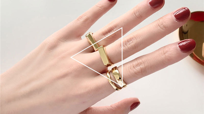 Adjustable gold/silver Ring