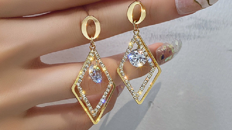 Rhinestone shinny Earrings