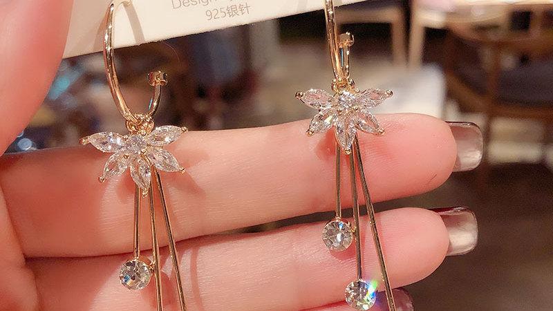 Flowers drop Earrings