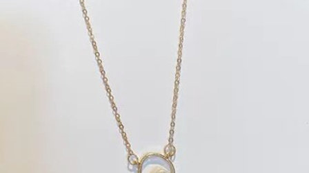 Gold& pearl Necklace