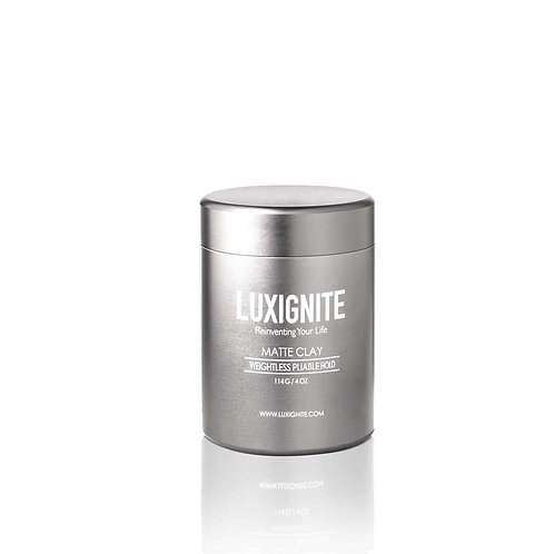 Luxignite High Hold & Matte Finish │ Water Based Matte Clay│+ SOLID COLOGNE