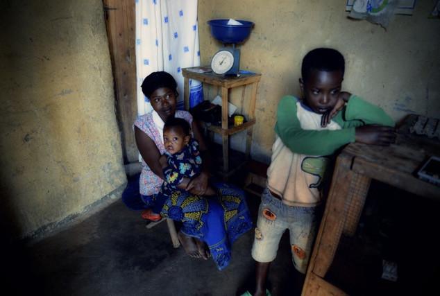 Unterstützung ärmster Familien
