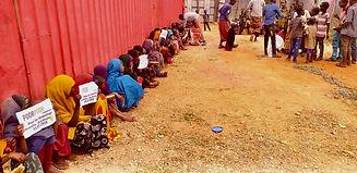 7000 Brote für Somalia