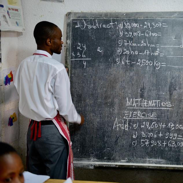 Kagugu Schule Lehrkräfte