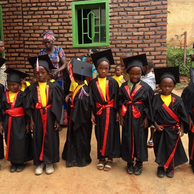 Abschluss im Kindergarten