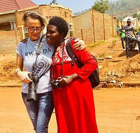 Rwandische Fotografin