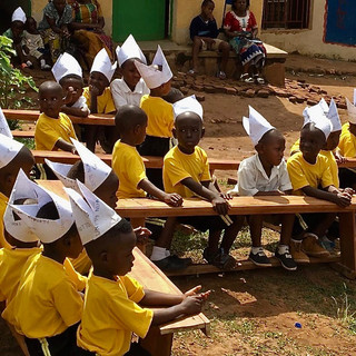 Kindergarten in Ruanda