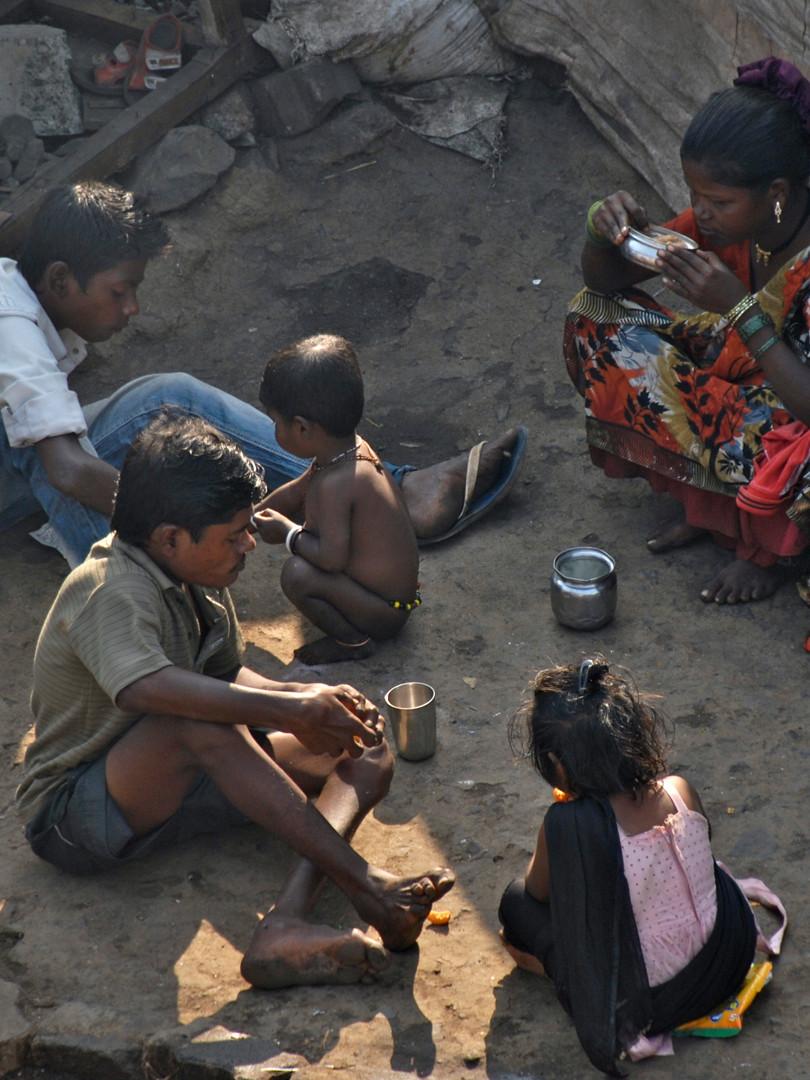 PoorPoor in Indien / Bombay