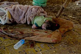 Flüchlingsnothilfe in Syrien