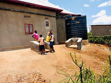 WASAC Wasser Anschluß Rwanda
