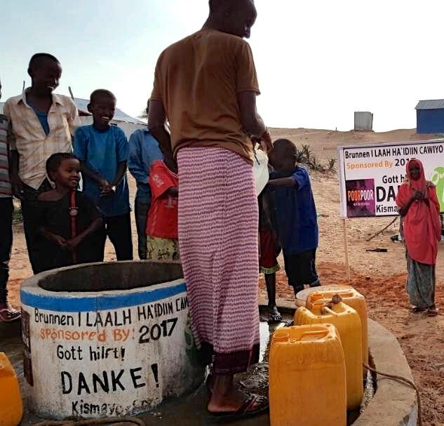 Brunnen Somalia Kismayo
