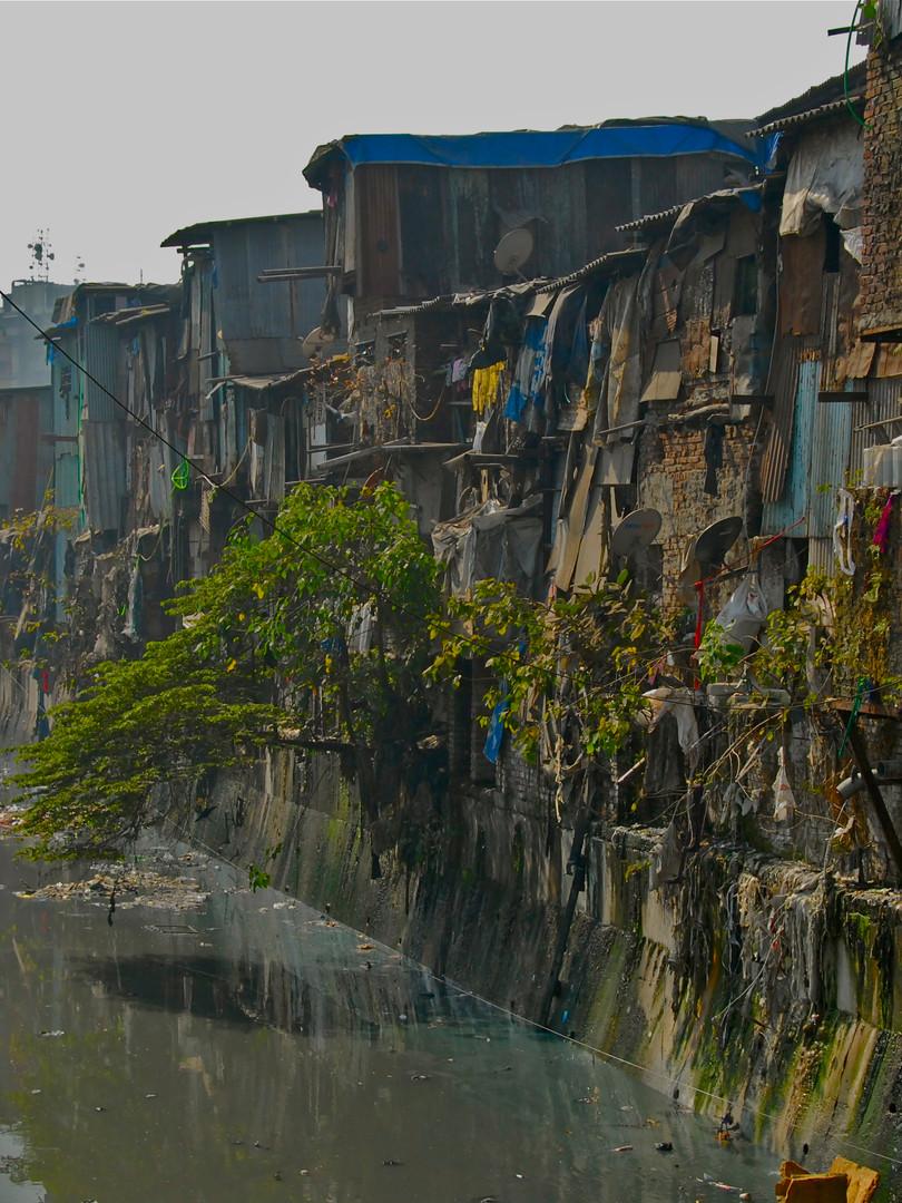 PoorPoor Dharavi Slum Indien