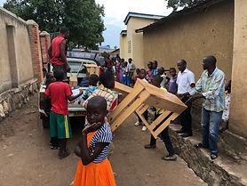 Grosse Schulbank Rwanda