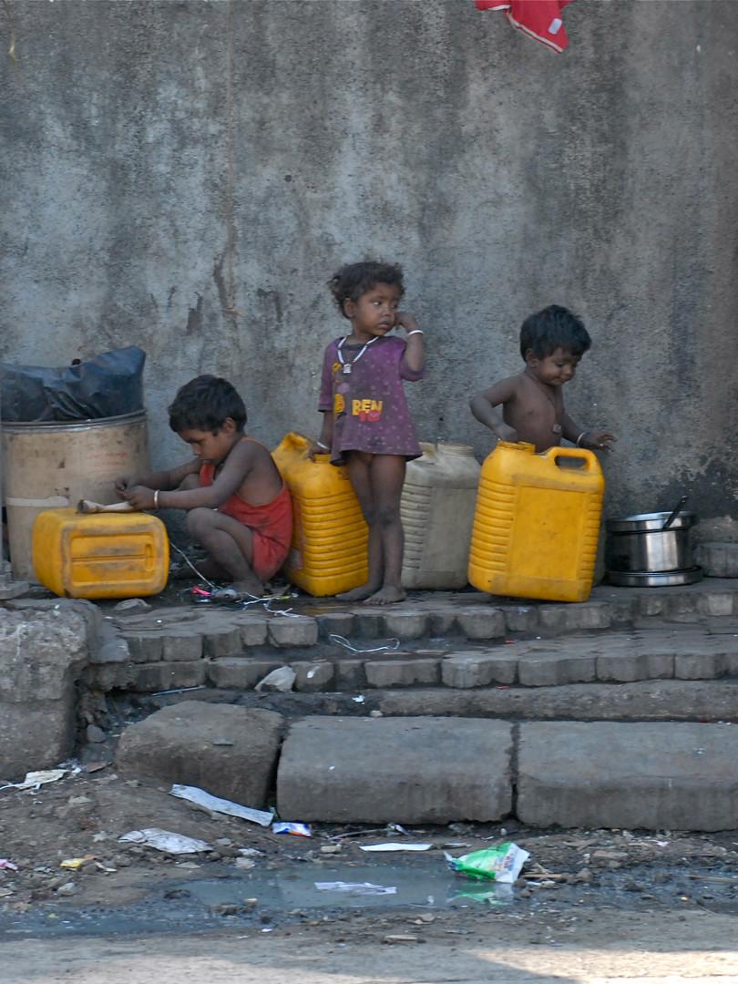 PoorPoor in Indien Kalkutta