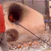 Bäckerei im Kriegsgebiet Somalia